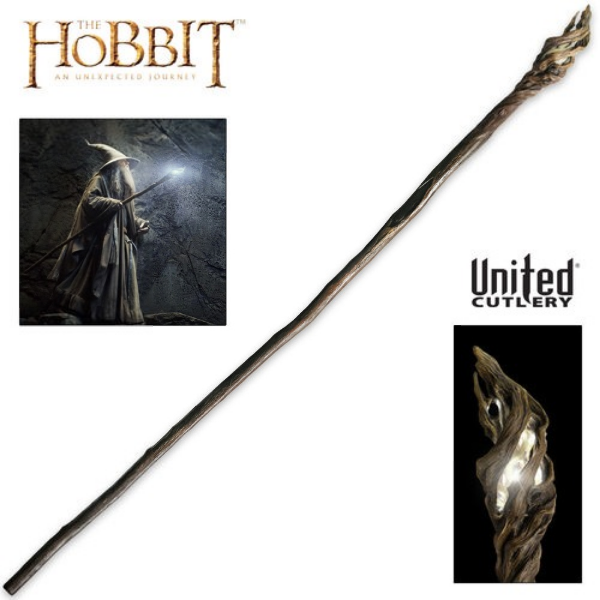 Illuminated Staff of the Wizard Gandalf (OUT OF STOCK)